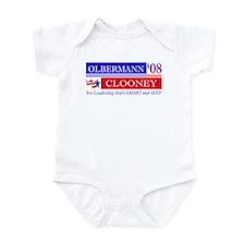 Olbermann_Clooney Infant Bodysuit
