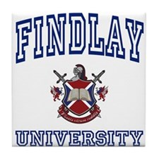 FINDLAY University Tile Coaster