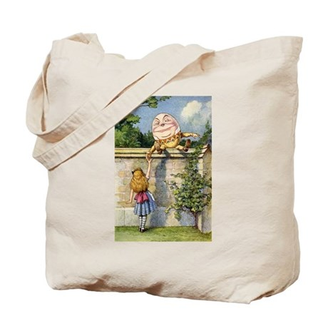 ALICE & HUMPTY DUMPTY Tote Bag