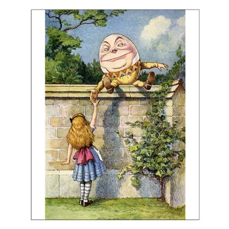 ALICE & HUMPTY DUMPTY Small Poster