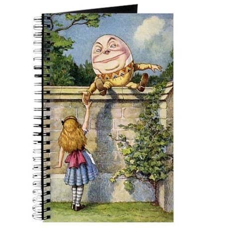 ALICE & HUMPTY DUMPTY Journal