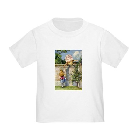 ALICE & HUMPTY DUMPTY Toddler T-Shirt