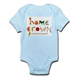 Home Grown. Support our Farme Onesie