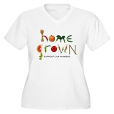 Home Grown. Support our Farme T-Shirt