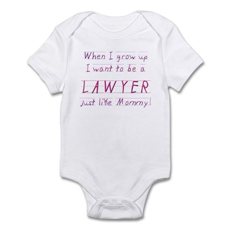When I Grow Up ... (Mommy/Pin Infant Bodysuit