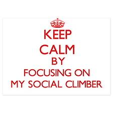 Keep Calm by focusing on My Social Cli Invitations