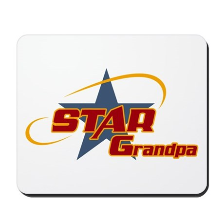 Star Grandpa Mousepad