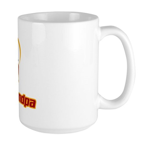 Star Grandpa Large Mug