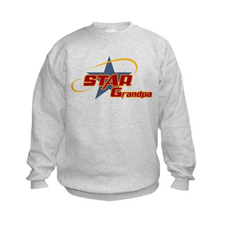 Star Grandpa Kids Sweatshirt