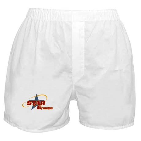 Star Grandpa Boxer Shorts