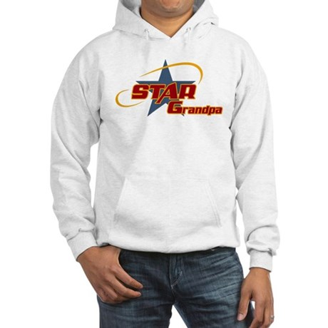 Star Grandpa Hooded Sweatshirt