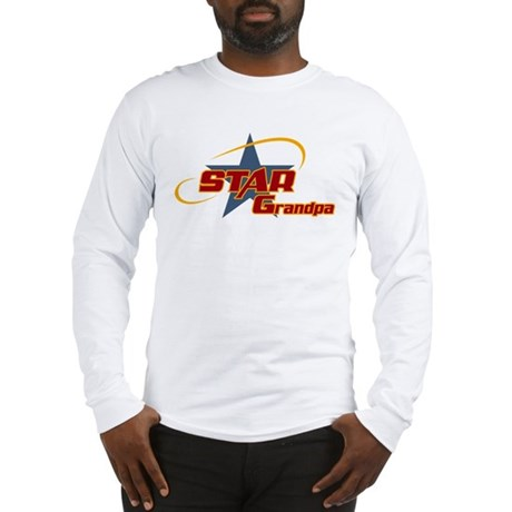 Star Grandpa Long Sleeve T-Shirt