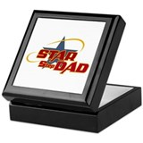 Star Step Dad Keepsake Box