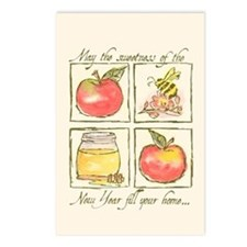 Apples & Honey Postcards (Package of 8)