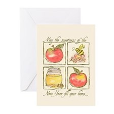 Apples & Honey Greeting Cards (Pk of 10)