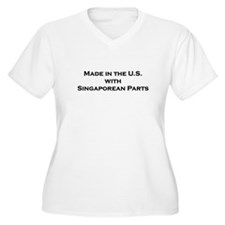 Made in the U.S. with Singapo T-Shirt
