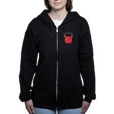 Kettlebell Women's Zip Hoodie