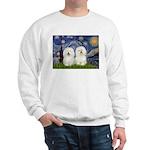 Starry Night / 2 Bolognese Sweatshirt
