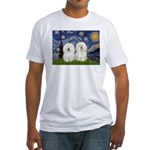 Starry Night / 2 Bolognese Fitted T-Shirt