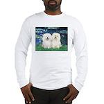 Lilies (#5) & 2 Bolognese Long Sleeve T-Shirt