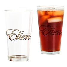 Gold Ellen Drinking Glass
