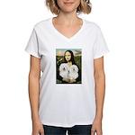 Mona's 2 Bolognese Women's V-Neck T-Shirt