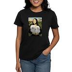 Mona's 2 Bolognese Women's Dark T-Shirt