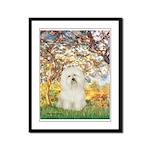 Spring / Bolgonese Framed Panel Print