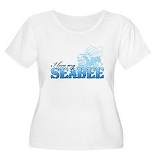 I Love My Seabee T-Shirt