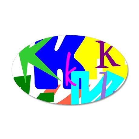 Initial Design (K) Wall Decal