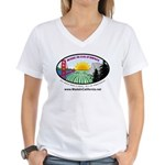 Made in California's Women's V-Neck T-Shirt