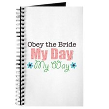 Obey Bride Wedding Journal
