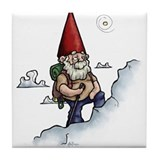 Mountain Gnome Tile Coaster