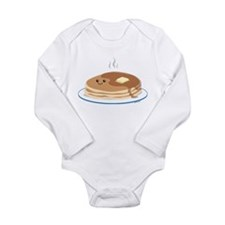 Cute Stacked Long Sleeve Infant Bodysuit
