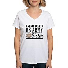 Proud U.S. Army Sister Shirt