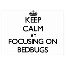 Keep Calm by focusing on Bedbugs Invitations