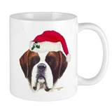 St. Bernard Christmas Mug