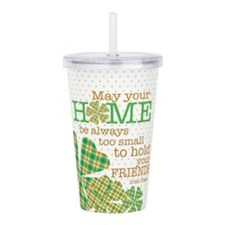 Irish Proverb Acrylic Double-wall Tumbler