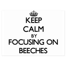 Keep Calm by focusing on Beeches Invitations