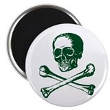 Masonic Skull and Crossbones Magnet