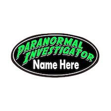 Paranormal Investigator Patches