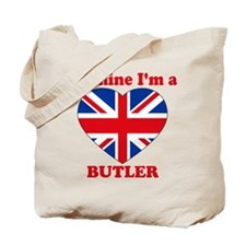 Butler, Valentine's Day Tote Bag