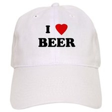 I Love BEER Baseball Cap