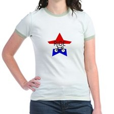 Red, White and Blue RIDE star T
