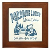 Paradise Lakes Framed Tile