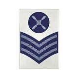 RAF Chief Technician<BR> Rectangle Magnet 3