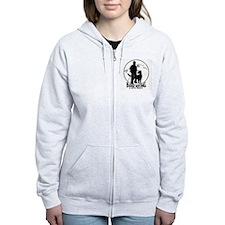 BHWD Logo Zipped Hoodie