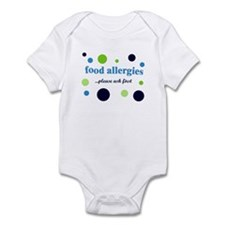 Food Allergies Infant Bodysuit