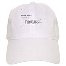 C++ Female Mood Baseball Cap
