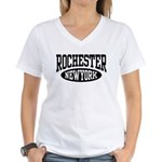 Rochester New York Women's V-Neck T-Shirt
